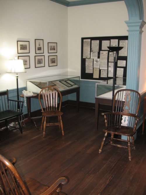Public Room in Historic Farmers Bank